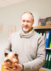 Valjala Seakasvatuse juht Raul Maripuu. Foto: Irina Mägi