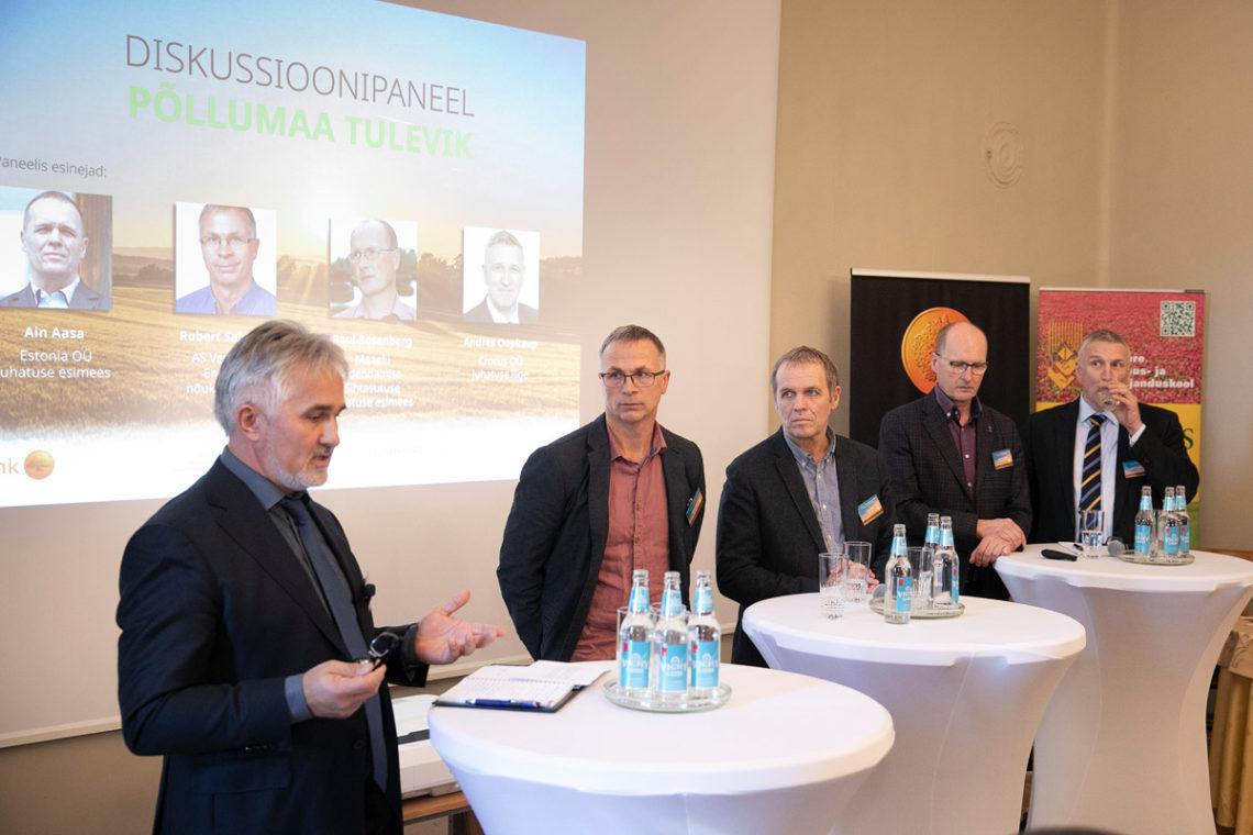 Konverents Põllumees kui tippjuht. Foto: Oleg Harchenko