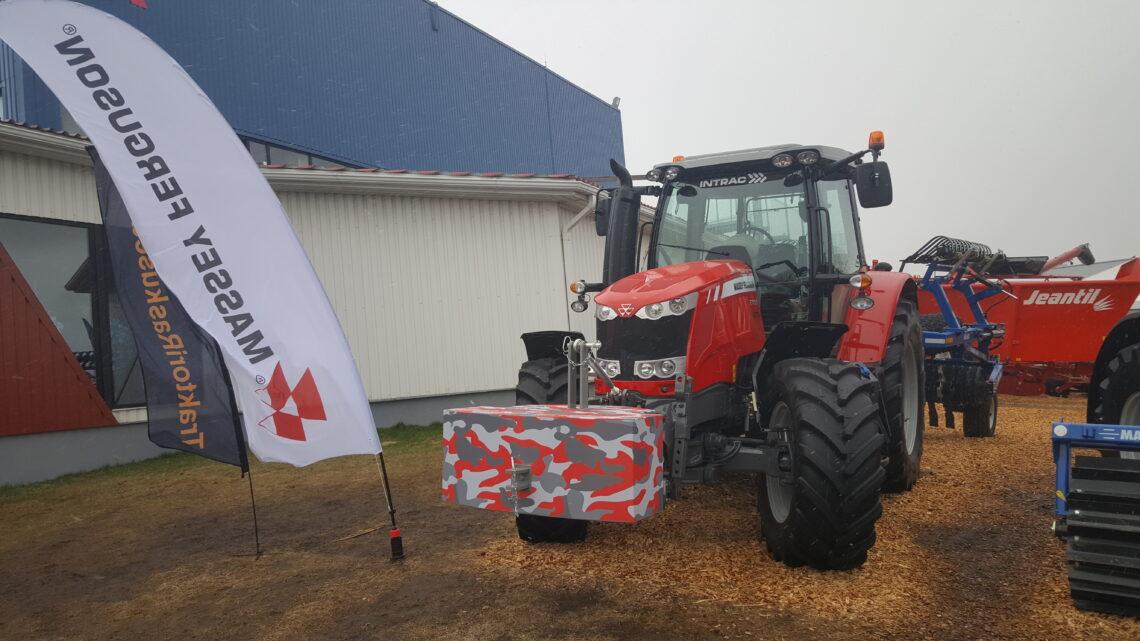 Traktori lisaraskused. Metallist kestaga raskus. Foto: TrBet OÜ
