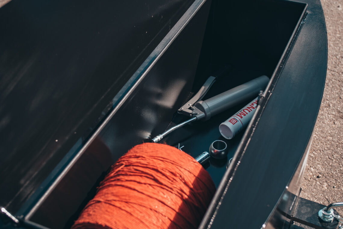 Mahukas tööriistakast lisab kasutusmugavust. Foto: TrBet OÜ