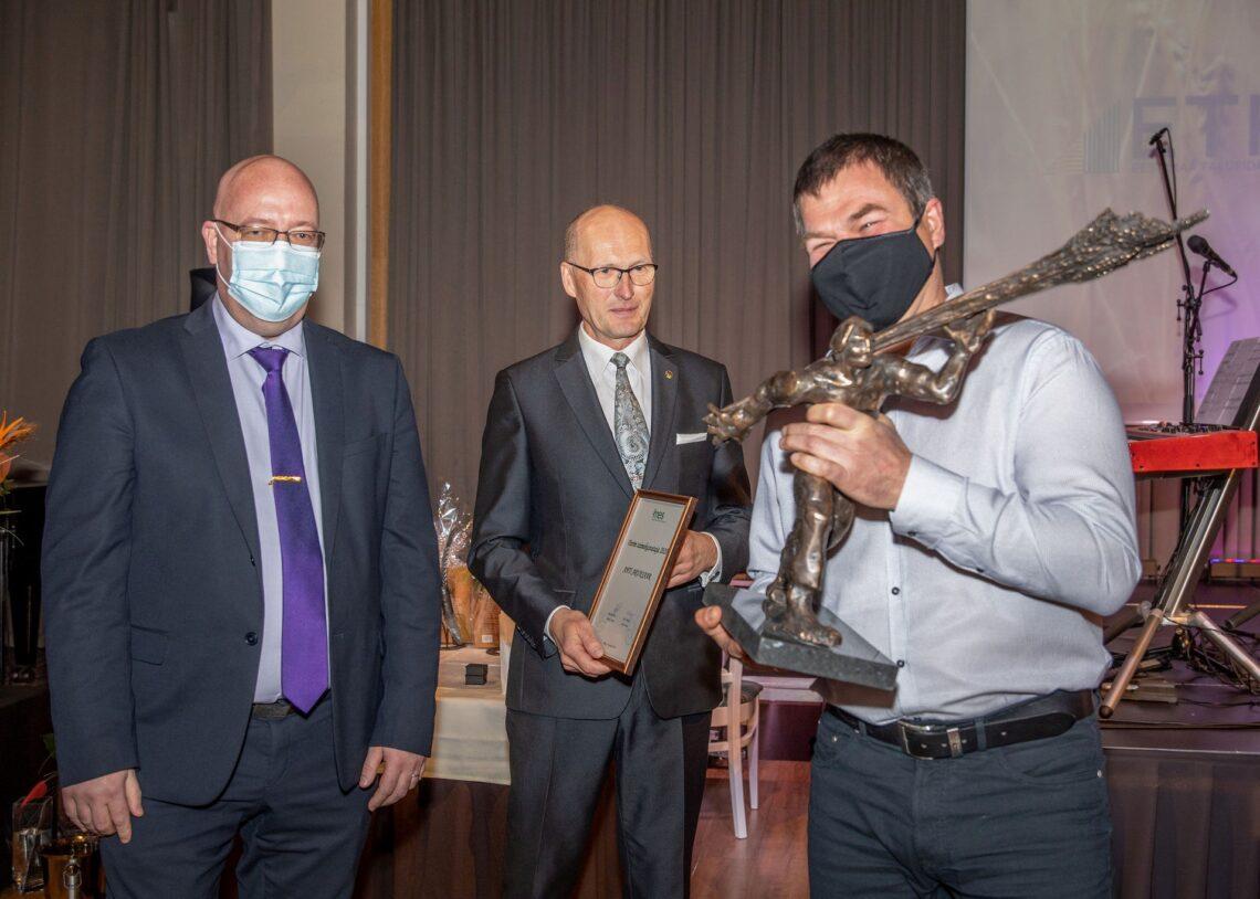 Arvo Aller, Raul Rosenberg ja Ahti Aruksaar. Foto: Tarmo Pihelgas