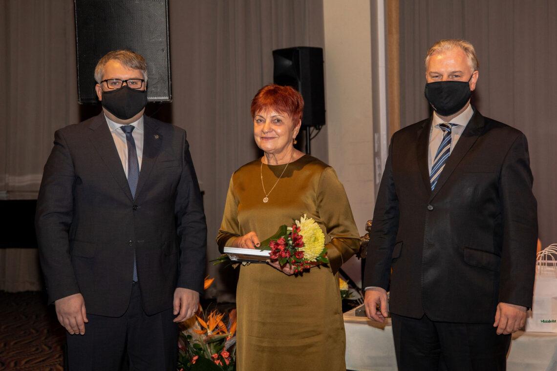 Roomet Sõrmus, Merli Sild ja Sivar Irval. Foto: Tarmo Pihelgas