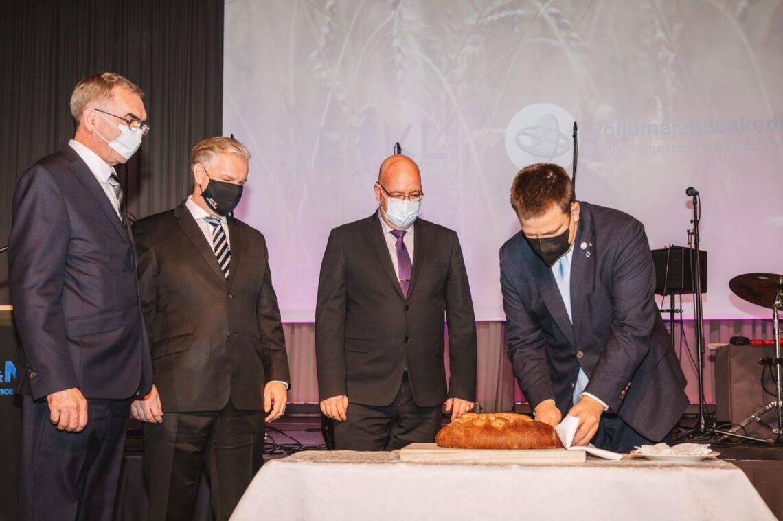 Arvo Aller, Sivar Irval, Kalle Hamburg ja Jüri Ratas. Foto: Tarmo Pihelgas