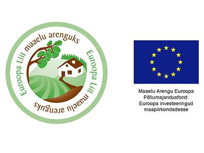 Eesti maaelu arengukava 2007-2013 logo koos Euroopa Liidu embleemiga