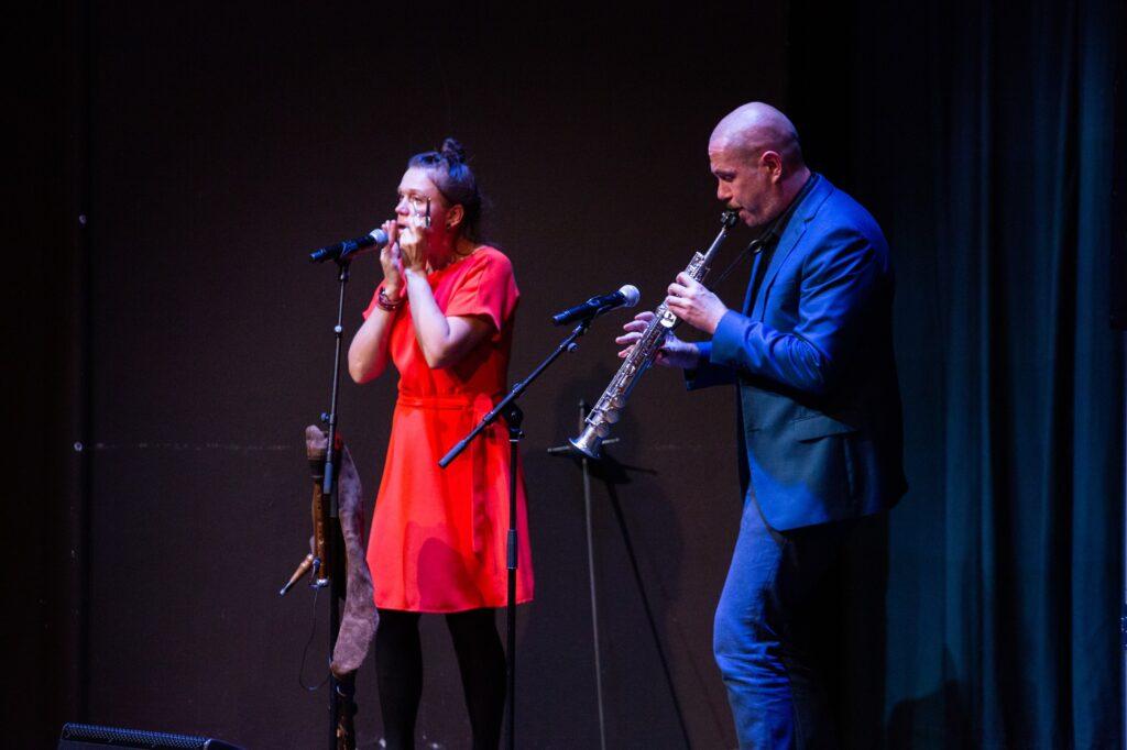 Muusikalisi vahepalasid esitasid Cätlin ja Marko Mägi. Foto: Sten Semjonov